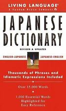 Basic Japanese Dictionary (LL(R) Complete Basic Courses), Living Language, Good