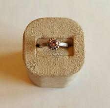 Vintage Estate Sterling Silver Amethyst Southwestern Ring ~ Size 6 1/2