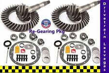 Jeep Cherokee 1984 to 2001 Re Gearing Package Front and Rear w Kits 4.11 Ratio