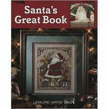 Noël santa's grand livre cross stitch pattern book-de noël 39 designs