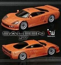 IWAVER 1:28 02M FORD SALEEN S7 ARANCIONE ON-ROAD CAR ELETTRICA BRUSHED 2WD RTR