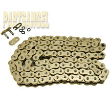 Gold 520x114 O-Ring Drive Chain ATV Motorcycle MX 520 Pitch 114 Links