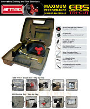 ARMEG EBS Tri-Cut DOUBLE Backing Box Electrical Socket Box Cutter & Chisel KIT