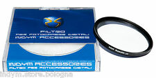 Filtro IndyM UV 58 mm Super Slim Protettivo x Nikon D800 D600 D300 D90 58mm