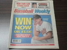AUGUST 9, 1994 USA TODAY BASEBALL WEEKLY - JOHNNY OATES