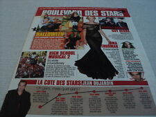 J019 UMA THURMAN JEAN DUJARDIN TORI SPELLING CAROLE BOUQUET'2007 FRENCH CLIPPING
