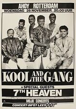 "Kool and the Gang Rotterdam 16"" x 12"" Photo Repro Concert Poster"