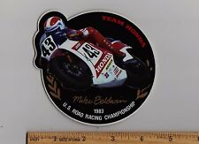 1983 HONDA MIKE BALDWIN ROAD RACING CHAMPIONSHIP STICKER Decal RS500 NS500 HRC