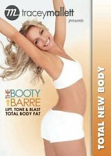 TRACEY MALLETT THE BOOTY BARRE TOTAL NEW BODY DVD NEW SEALED BALLET WORKOUT