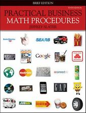 Practical Business Math Procedures, Brief Edition