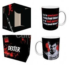 DEXTER Good Person/Bad Person Porcelain Coffee Mug, 11 oz, Boxed, Culturenik