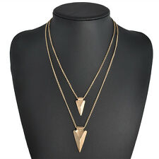 Hot Fashion Cleavage Lariat Delicate Y Charm Drop Gold /Silver Necklace Pendant