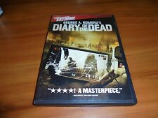 George A. Romero's Diary of the Dead (DVD, Widescreen 2008) Used Zombies