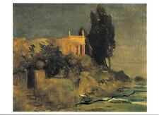 Kunstpostkarte  -  Arnold Böcklin:  Villa am Meer