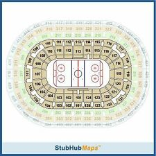 2017 IIHF World Junior 4 Tickets Bronze Medal Russia Vs Sweden