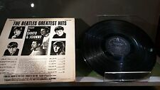 The Beatles Greatest Hits played by Santo & Johnny LP record rough condition