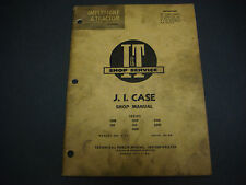I & T Shop Service Manual,J I Case C-11 300B 350 400B 200B 500B 600B 300