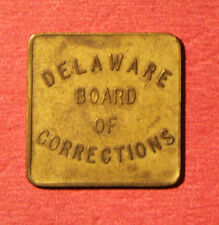 Delaware Prison Token * 10 Cent * Delaware Board of Corrections