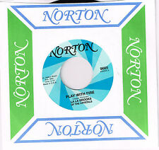 "PIGGIES / LA BROOKS of THE CRYSTALS 'Parachute Woman / Play with Fire 7"" stones"