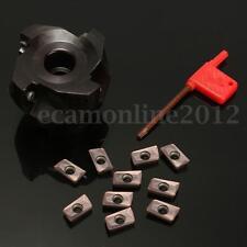 BAP 400R-63-22-4F Fresa Milling Cutter 4 Flauta Torno + 10Pzs CK APMT1604PDER DP