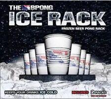 NEW Ice Rack Frozen Beer Pong Rack Set