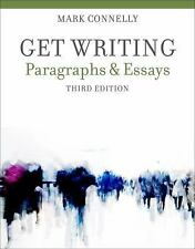Get Writing: Paragraphs and Essays, Connelly, Mark, Acceptable Book