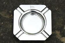 WHITE STAR LINE RMS OLYMPIC TITANIC ERA SILVER PLATE 1ST CL 1929 SQUARE ASHTRAY