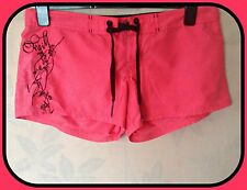 (BIN725)0`NEILL WOMEN`S RED SHORTS HOTPANTS SIZE 30