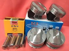 YCP P29 75.5mm 050 Teflon Coated Pistons High Comp + NPR Rings Honda D16
