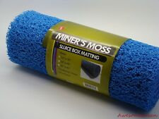 BLUE MINER'S MOSS - 12 Inch x 36 Inch x 10 MM - For Gold Sluice - FREE SHIPPING