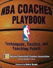 NBA Coaches Playbook: Techniques, Tactics, and Teaching Points-ExLibrary