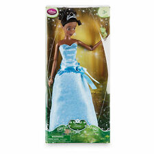 Disney Store Princess Tiana Classic Doll with Naveen as Frog Figure - 12''