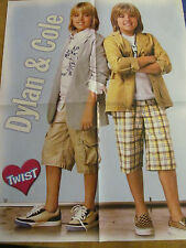 Dylan and Cole Sprouse, The Jonas Brothers, Four Page Foldout Poster