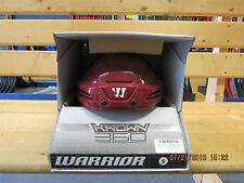 Warrior Krown 360 Pro Hockey Helmet Arizona Red Small Safest Rating