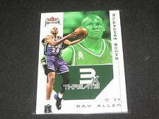 RAY ALLEN BUCKS LEGEND GENUINE PACK PULLED CERTIFIED AUTHENTIC CARD  RARE /250