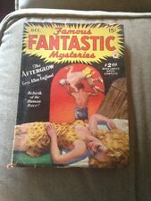 Science Fiction Book Famous Fantastic Mysteries The Afterglow Geo Allan England
