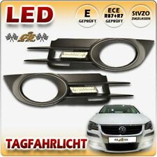 VW Touran CROSS & R Line TYP 1T2 GP LED Tagfahrlicht CHROM+Gitter Bj2007-07/2010
