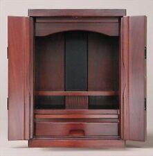NEW Butsudan Shrine Mini Buddhist wood Altar CMB-320 Dark Brown F/S japan NEW