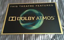 Dolby Atmos Cinema Sign