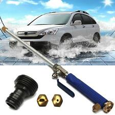 Aluminium High Pressure Power Washer Cleaner Spray Nozzle Water Gun Hose+2X Tips