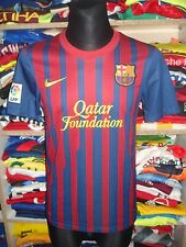 MINT FC BARCELONA 2011/2012 HOME SHIRT SIZE S JERSEY CAMISETA MESSI  (f66)