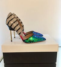 Kurt Geiger London Bond Green Ombre Sequin Court Shoes Size 5 38 RRP £270 BNIB