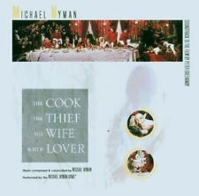 The Cook, The Thief, His Wife And Her Lover OST CD NEW SEALED Michael Nyman