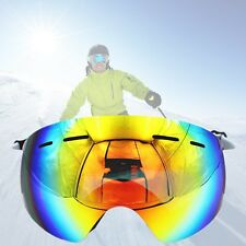 Skiing Snowboard Adult Womens Youth Ski Goggles Glasses Anti-fog Snow Dual Lens