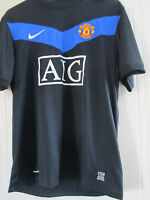 Manchester United 2009-2010 Away Football Shirt Large /40228