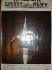 Photo Salisbury Cathedral UK on 700th anniversary 1958