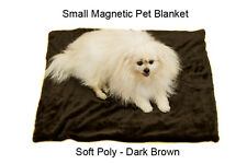 SMALL DESIGNER LUXURY DOG PET BLANKET MAGNETIC THERAPY FOR PETS