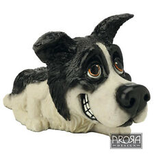 Little Paws Bess Border Collie Dog Figurine in gift Box   23451