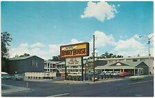 Del Webb's Hiwayhouse Motel in Albuquerque NM Postcard