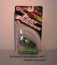 Ertl Racing Fast & Furious 1995 Mitsubishi Eclipse Green O'Conner 1/64 NEW MINT